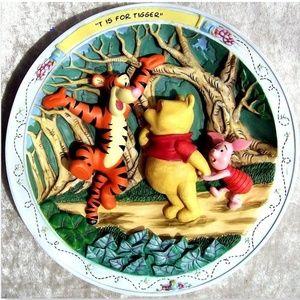 Pooh (Plate,Winnie,Disney,figurine,Tigger,Piglet)